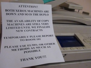 Trouble With Printers