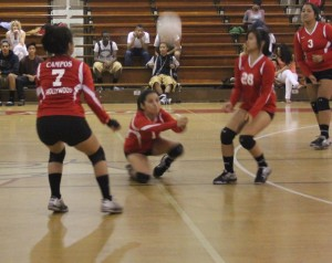 "Trojans Got ""Served"" Girl's Volleyball Beat USC Mast Last Friday"