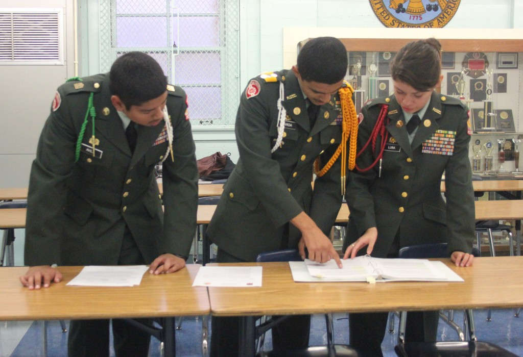 School JROTC achieves a 1,087 score on DAI evaluation