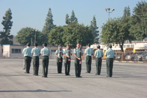 Sheik battalion takes part in JROTC All-City competition