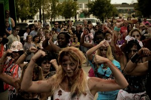 Man On The Street: What would you do to survive a zombie apocalypse?