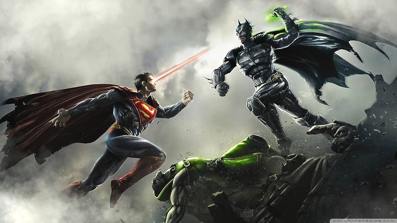 The ultimate clash of DC warriors
