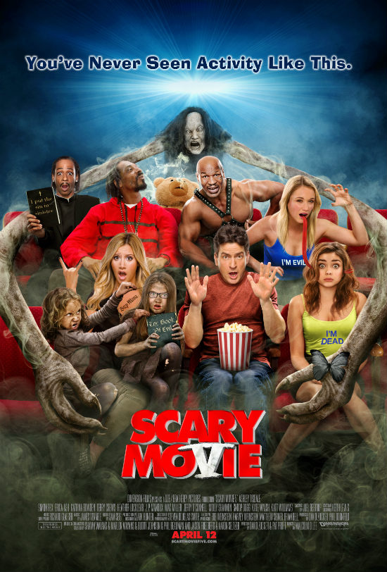 Scary Movie V is scary bad Scary