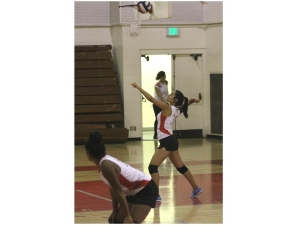 The losing streak has finally ended for volleyball