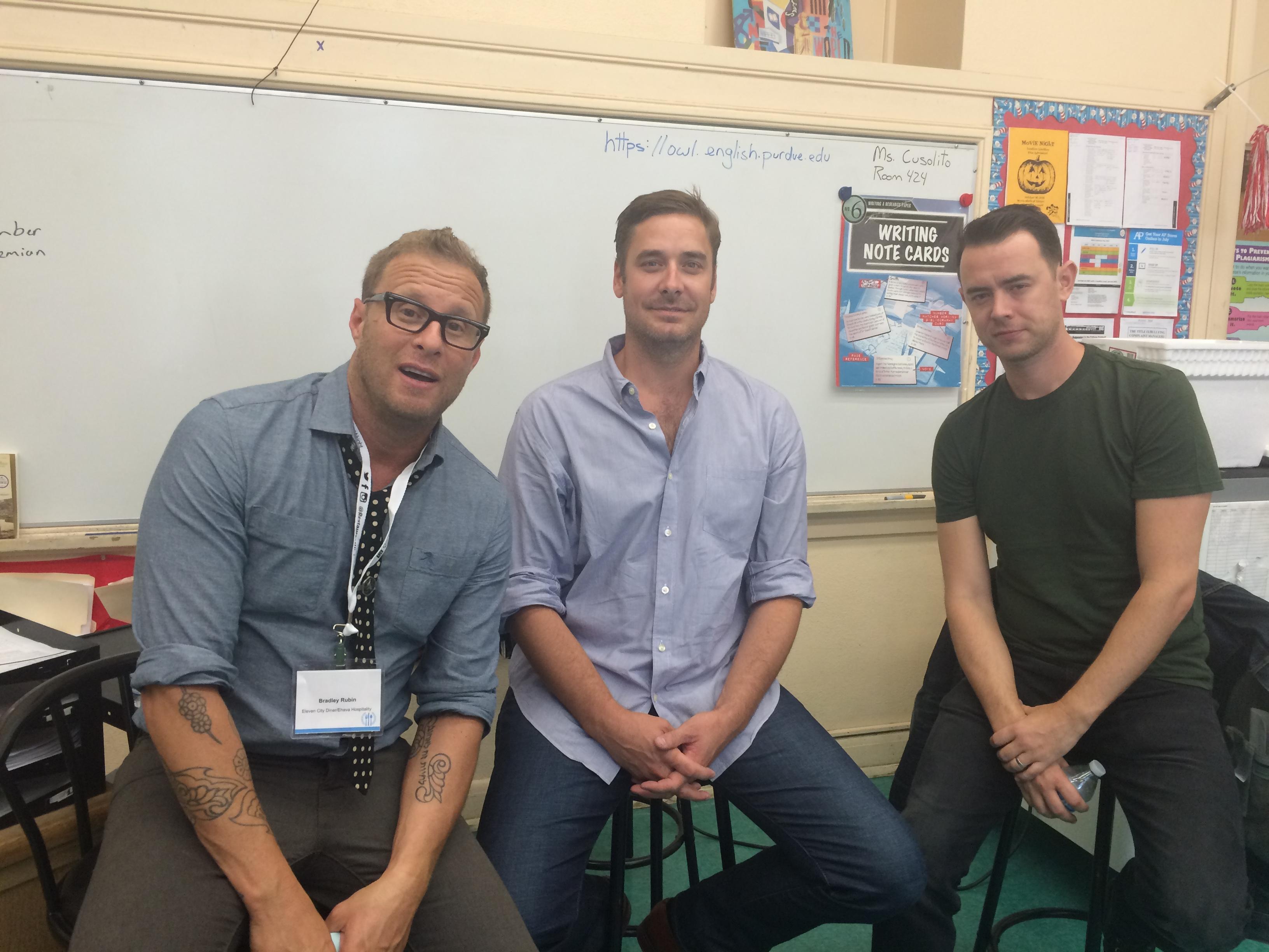 Colin Hanks and Sean Stuart Discuss Filmmaking