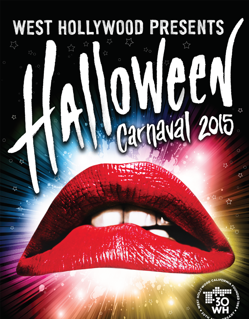 Largest Halloween party held in West Hollywood