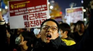 S.Korea Protests for the President to Resign