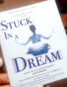 "Fall Dance Show has us ""Stuck in a Dream"""