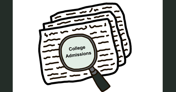 College admissions reflection
