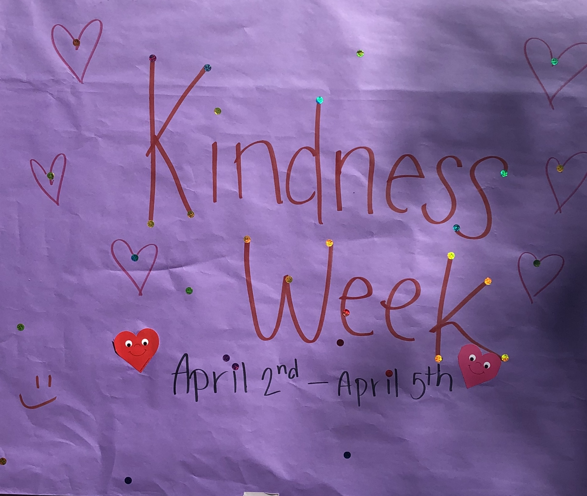 Kindness Week can Touch Hearts