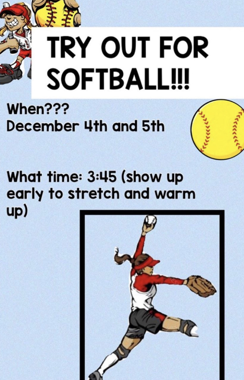 Try out for Softball