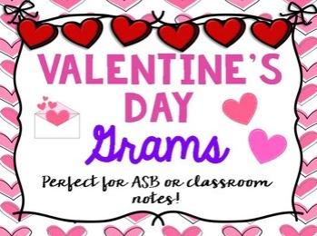 Celebrate Valentine's day with grams