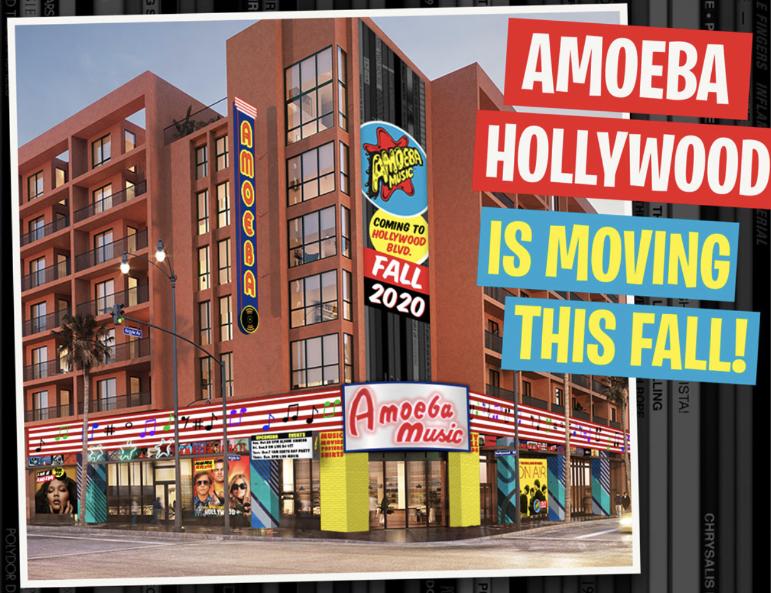 Amoeba Hollywood gets new location