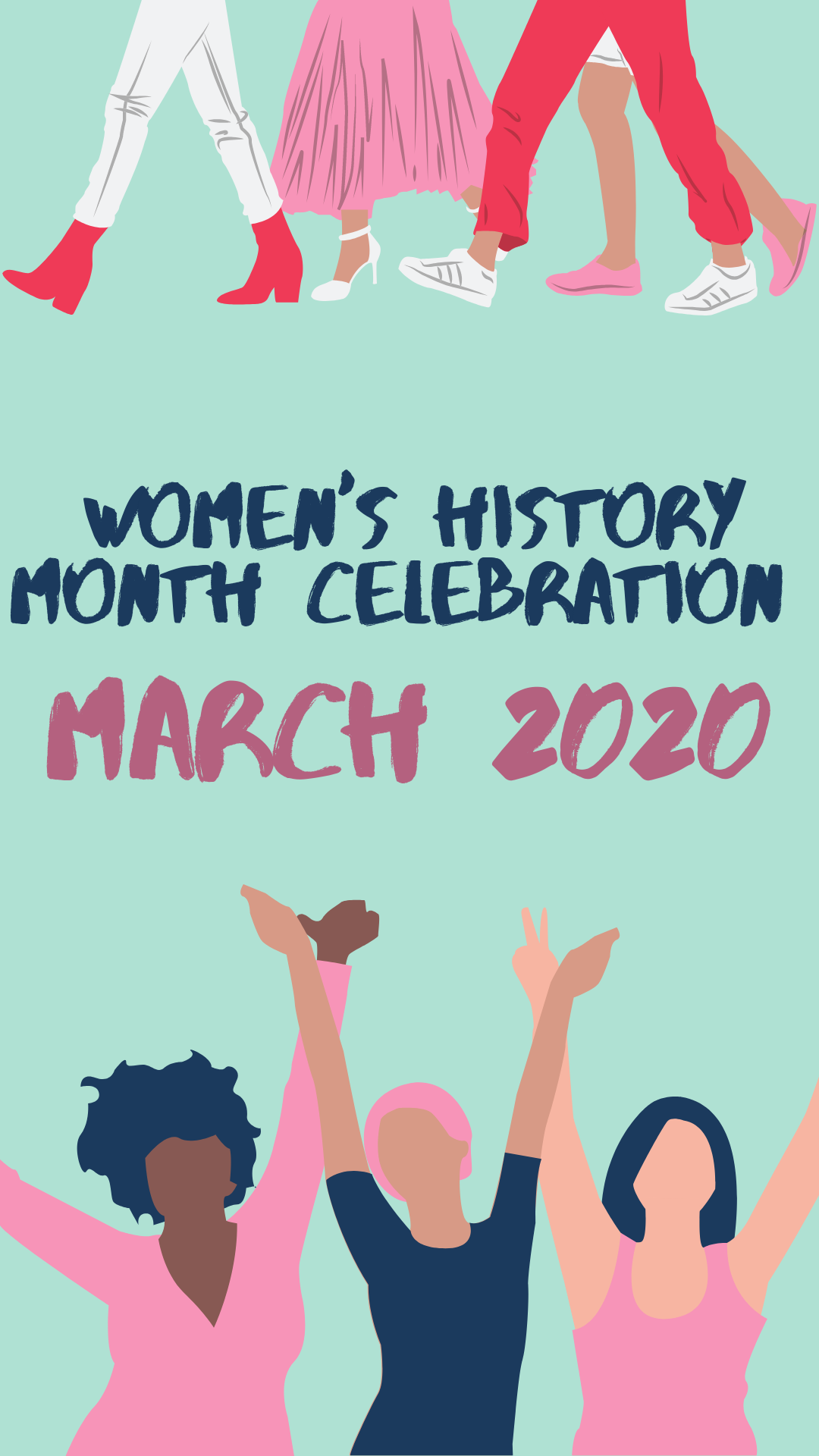 Women's history month is here
