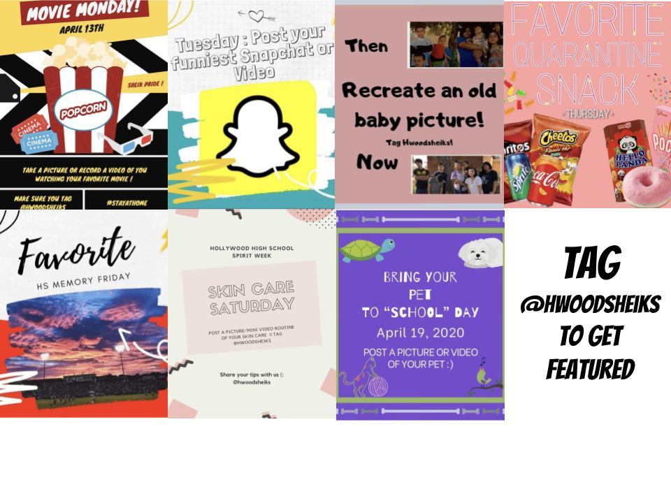 Celebrate Virtual Spirit Week