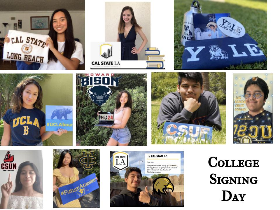 Seniors celebrate College Signing Day